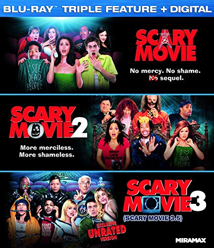 Scary Movie Collection (Blu-ray + Digital) - 3 movies $9.99