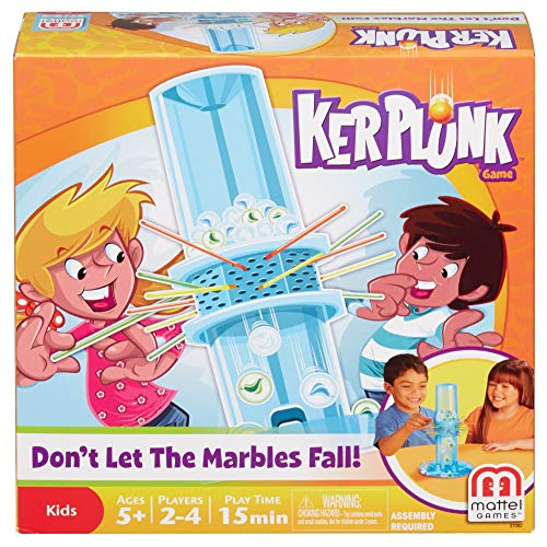 Kerplunk Classic Kids Game with Marbles,...