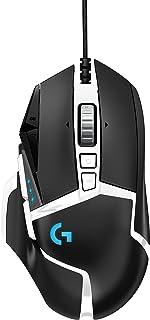 Logitech G502 Hero High Performance Gaming Mouse Special Edition, Hero 16K Sensor, 16 000 DPI, RGB, Adjustable Weights, 11...