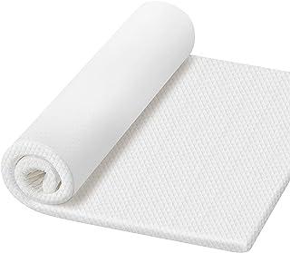 Kitsure マットレス ベッドパッド 高反発 マットレス 敷布団 厚さ3.5cm 折りたたみマットレス シングル 防臭 カバー洗える ベッドマット ホワイト