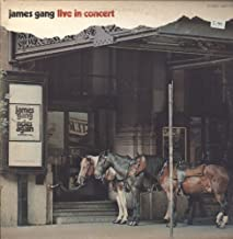 James Gang - Live In Concert - ABC/Dunhill Records - ABCX-733 USA VG++/VG++ LP