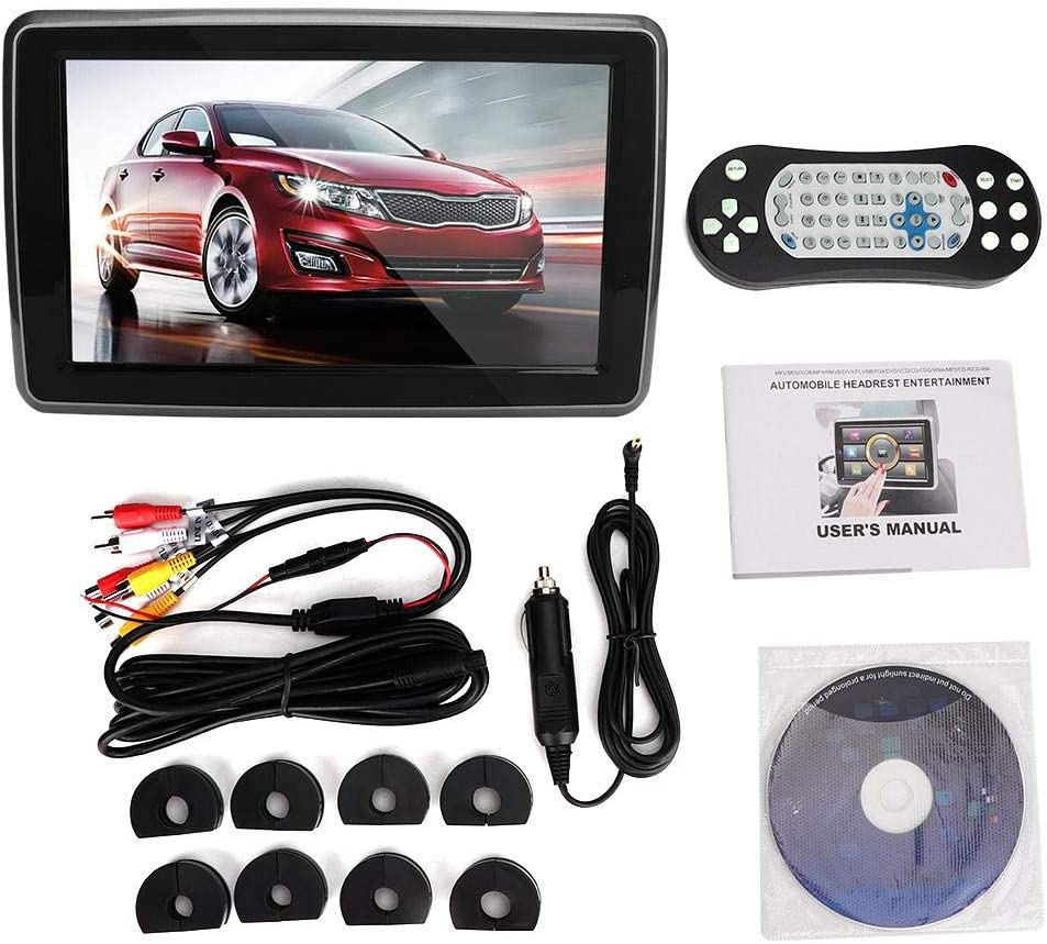 Car DVD Player Factory outlet 10.1inches New color Headrest External Monitor Play