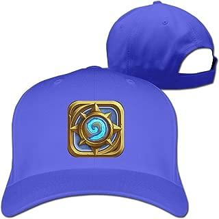 DETED Hearthstone Heroes Of Warcraft Sun Hat Cap Black