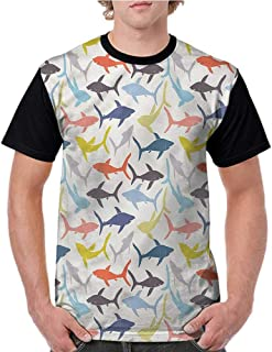 XINPULONG Youth Graphic T Shirt Short Sleeve for Fun Design Teen Girls Boys
