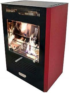 Estufa de bioetanol biostufa 3000 W burdeos calefacción entornos 90 mc new ruby
