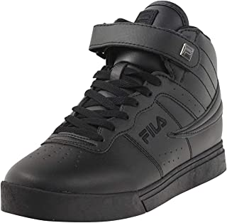 Fila Vulc 13 MP Mens Solid Black Athletic Sneaker Shoes