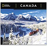 National Geographic Canada 2021 Wall Calendar