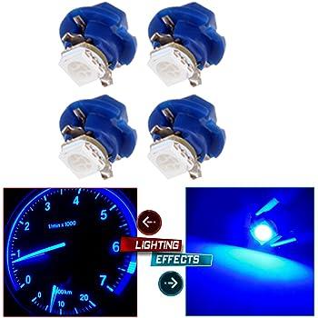 SCITOO 20 Pcs B8.4D Neo Wedge Halogen Light Bulbs Instrument Gauge Cluster Light Bulbs for A//C Climate Control Light
