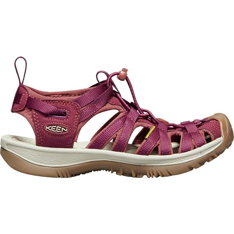 長老製造業偽物(キーン) KEEN レディース シューズ?靴 サンダル?ミュール Whisper Sandal [並行輸入品]