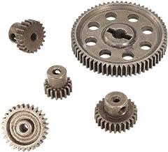 16 mm Doble Plástico engranajes Rueda 30 a 10 desmultiplicador dientes para de 2 mm de eje del motor