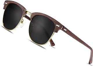 AVAWAY Fashion Polarisierte Damen Sonnenbrille Blaulichtfilter Brille UV400 Schutzbrille Acetat Rahmen