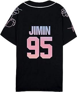 babyHealthy Kpop BTS T-Shirt Jung Kook J-Hope Suga Jimin V Love Yourself Tee Baseball Shirt