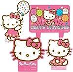 amscan Hello Kitty Mini Molded Candles - 4/Pkg.