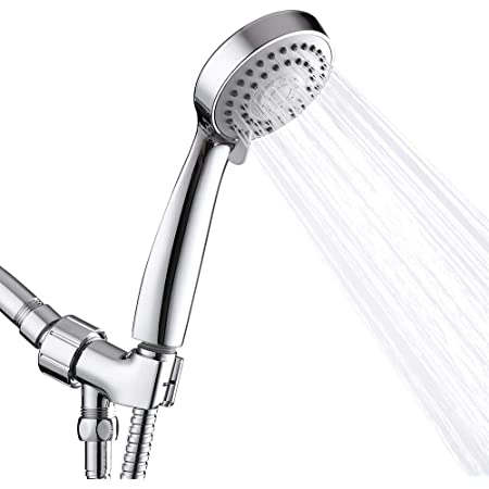 Chromed Showerhead Water Saving Supercharged Spray Nozzle for Barber Shop #8