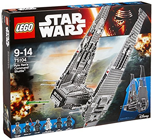 LEGO Star Wars Kylo Ren's Command Shuttle 75104, Kit de construcción