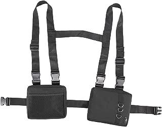 MGFLASHFORCE Chest Front Bag Men Women Streetwear Adjustable Chest Rig Bag Hip Hop Fashion Harness Waist Pack