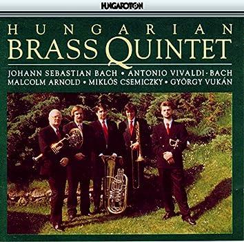 Bach-Vivaldi: Concerto in C Minor / Arnold: Quintet, Op. 73 / Vukan: Hatchback