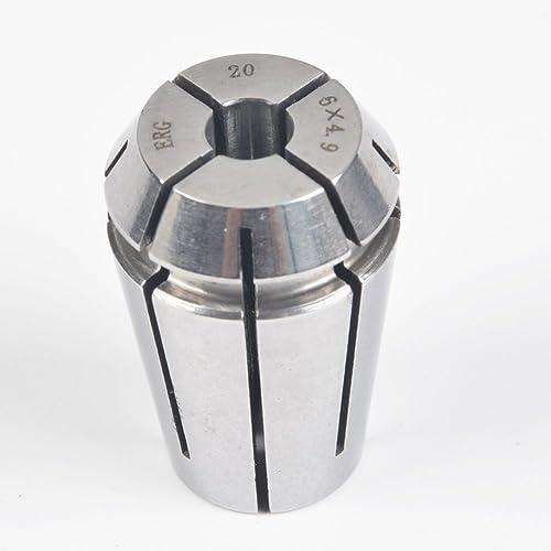 wholesale ERG20 6×4.9 Advanced online Formula Spring Steel Collet Sleeve Tap,For Lathe CNC Engraving Machine & wholesale Lathe Milling Chuck sale