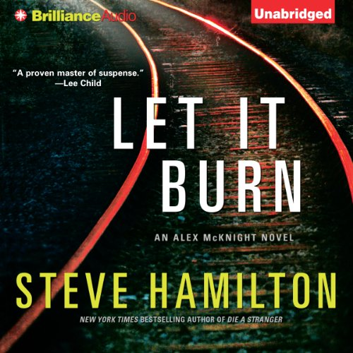 Let It Burn audiobook cover art