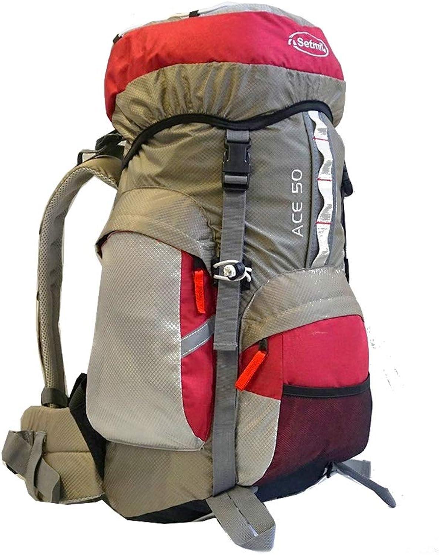 Setmil - - - Trekkingrucksack Ace 50 Granat B00PS8PJHS  Großhandel a7f79a