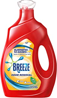 Breeze Breeze Odor Removal Liquid Detergent, 3.5kg