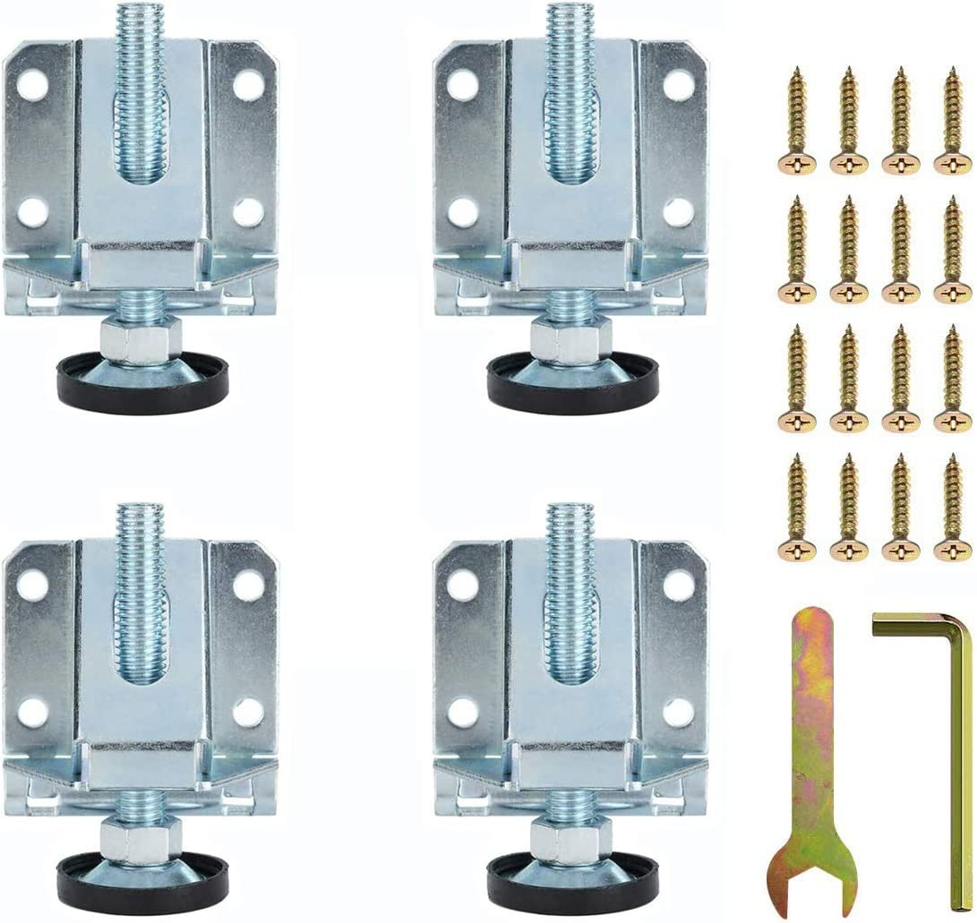 Translated Iceyon Leg Leveler Heavy Special price for a limited time Duty Leveling Feet Furniture Adjustabl