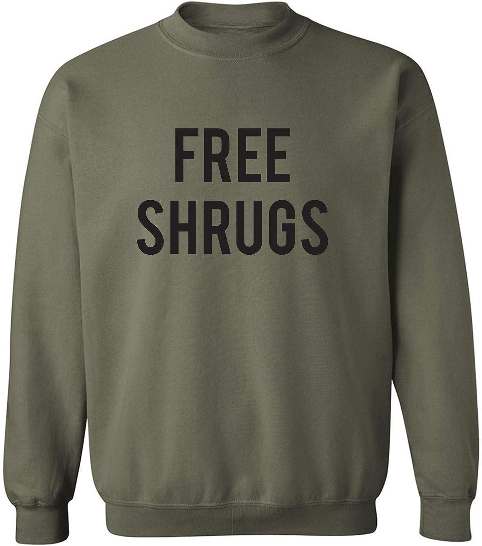zerogravitee Free Shrugs Crewneck Sweatshirt