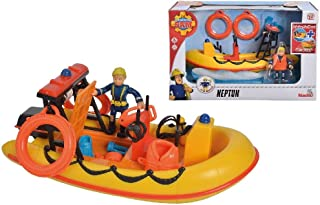 Simba Fireman Sam Neptune Boat and Figurine