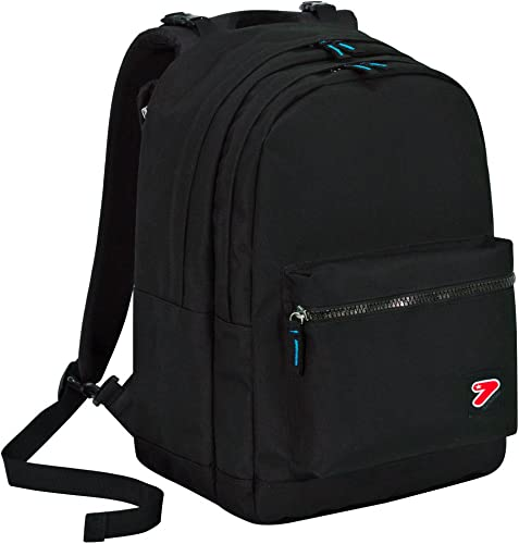 Backpack Seven The Double Pro XXL Jet schwarz