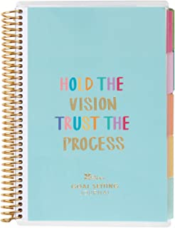 Erin Condren Coiled A5 Planner - Goal Setting, Featuring Goal-Setting Tips and Advice, Goal-Tracking Spreads, to-do Lists ...
