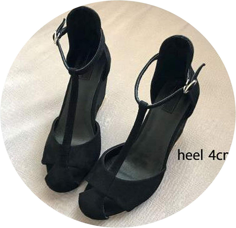 Yeenvan 2019 Women Sandals Summer Wedges shoes Lady Size 40 41 Aa0749