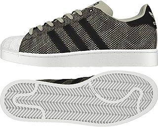 finest selection 9b14b f3a33 adidas Superstar Chaussures de Fitness Homme, Multicolore  (Sésamo Negbás Ftwbla 000)
