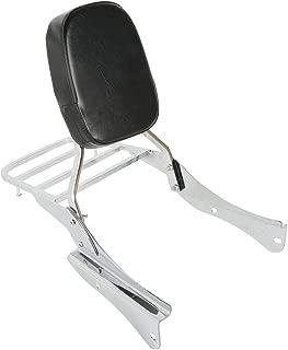 TCMT Detachable Stealth Sissy Bar Set + Luggage rack Fits For Honda Shadow Spirit VT 750DC 2001 2002 2003 2004 2005 2006 2007 2008