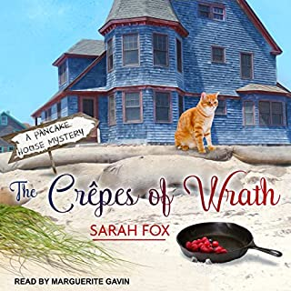 The Crêpes of Wrath     Pancake House Mystery Series, Book 1              By:                                                                                                                                 Sarah Fox                               Narrated by:                                                                                                                                 Marguerite Gavin                      Length: 7 hrs and 23 mins     14 ratings     Overall 3.6