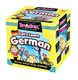 "The Green Board Game Co. Sprach-Lern-Set von BrainBox, ""Lets Learn German"""