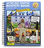 Gifted and Talented Test Preparation: WIPE CLEAN Activity Book Workbook (reusable) for Children Ages 3-6 in preschool through kindergarten; G&T NNAT-2; Early Learning Logic and Games