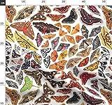 Natur, Tiere, Bunt, Käfer, Insekt, Motte, Wasserfarben,