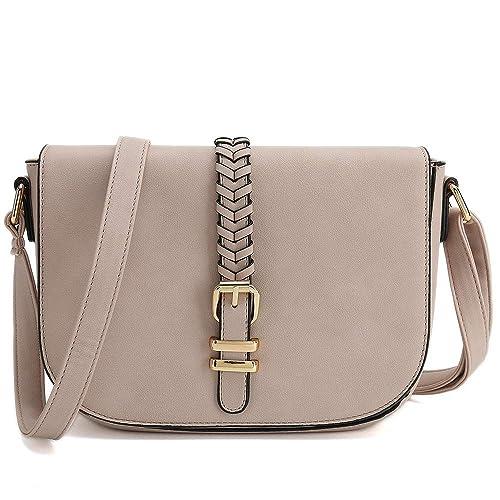 Casual Small Crossbody Saddle Bags for Women Shoulder Purse Designer  Handbags b09a5389eb2b7