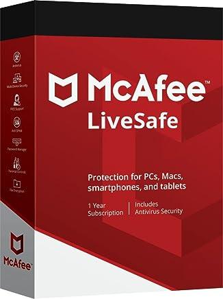 Scarica McAfee LiveSafe 2018 – illimitato dispositivi – 12 mesi abbonamento all Windows, Mac OS X, Android e iOS – leggere le istruzioni sotto per …