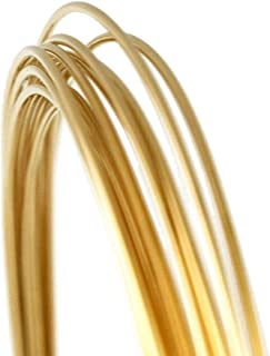 20 Gauge Round Half Hard 14/20 Gold Filled Wire - 5FT