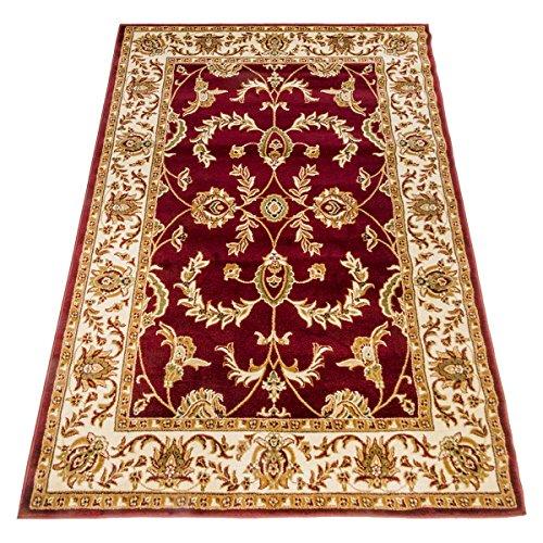 WEBTAPPETI.IT Tappeto Classico Ziegler Rosso Tappeto Economico Salon 716-ROSSO 70X300