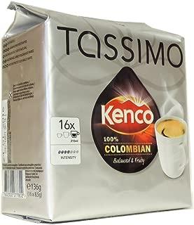 Tassimo - Kenco - 100% Colombian - 136g (Case of 5)