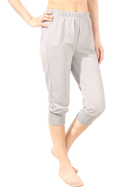 パネットワンpane(t) one パンツ クロップド裾しぼりパンツ 7分丈 レディース