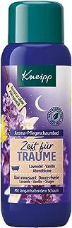 Kneipp Aroma-Pflegeschaumbad Zeit für Träume Lavendel Vanille und Abendblume, 1er Pack 1 x 400 ml