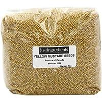 JustIngredients Essential Semillas de Mostaza Amarilla - 1000 gr