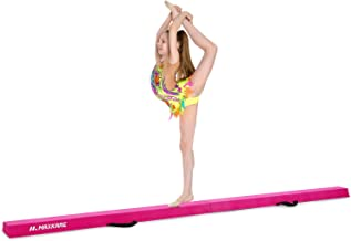 MaxKare Balance Beam 9FT Gymnastics Beam Foldable Balance Beam Gymnastic for Kids with..