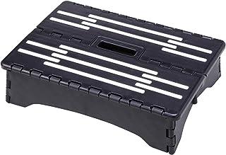 コモライフ 折りたたみ式低踏み台 ステップ コンパクト 省スペース 老人 約40×28×高10cm(折りたたみ厚み5cm) 玄関 ベッド 足が上がりにくい 耐荷重100kg