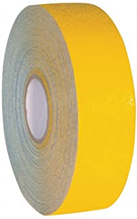 Armadillo - ARM310 - Yellow Heavy Duty Safety Marking Pavement Tape with High Visibility Reflective Glass Bead Surface - 3 Inch x 108 Foot Roll