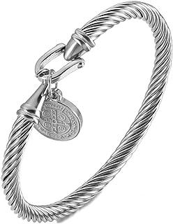 Jésus offre espoir Verre Cabochon Bracelet Tressé Bracelet En Cuir Bracelets