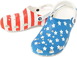 Men's and Women's Classic American Flag Clog | 4th of July Clogs